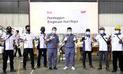 Tak Cuma THR, GRP Bagikan 5.600 Paket Sembako kepada Karyawan