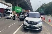 Imbas Penyekatan dan Pemeriksaan SIKM di KM 31 Cikarang Barat, Arus Lalu Lintas Padat