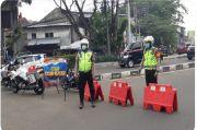 Antisipasi Lonjakan Pengunjung, Polda Metro Jaya Tutup Jalan Kawasan Pasar Tanah Abang