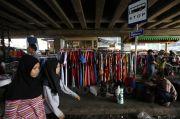 PKL Kembali Gelar Lapak di Trotoar Pasar Tanah Abang, Ini Kata Kasatpol PP DKI
