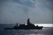 TNI AL Selamatkan ABK MT. St Katherinen yang Jatuh di Laut Natuna