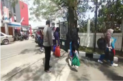 2 Tahun Tak Mudik, Belasan Penumpang Travel Gelap Ini Disekat Petugas di Tol (GT) Cileunyi