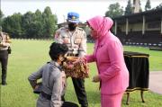 Siswa SIP Polri Ikuti Bintara Lemdik di Jabar dengan Patuh Prokes