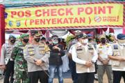 Penyekatan Mudik di Batubara, Puluhan Kendaraan Diputar Balik