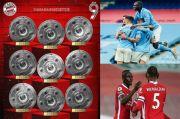 Hasil Pertandingan Sepak Bola: Muenchen Juara Bundesliga, Perayaan Man City Tertunda