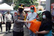 Wakapolda Metro Jaya Tinjau Vaksinasi Lansia di Paseban