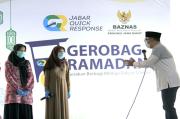 Soroti Gerobag Ramadhan, Ridwan Kamil: Berbagi Kebahagiaan dengan Sesama