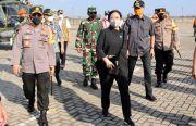 Pantau Penyekatan, Kapolri, Panglima TNI, Ketua DPR, dan Menhub Kompak ke Brebes