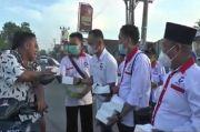 Peduli Warga, Partai Perindo Deliserdang Bagikan Ratusan Takjil dan Masker