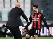 Babak I: AC Milan Robek Gawang Juventus Lewat Brahim Diaz