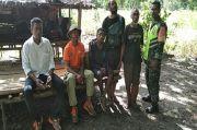 Mirip Tarzan, Pemuda Ini Hidup di Hutan Alor hingga Akhirnya Dijemput TNI