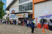 Operasi Pasar Digelar Bulog, Daging Sapi Beku Dijual Rp80.000/Kg