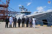 Usai Laksanakan Tugas Misi Perdamaian, KRI Sultan Hasanuddin-366 Singgah di Colombo