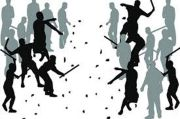 Tawuran di Tandes Surabaya, 10 Orang Diamankan 2 Luka Bacok