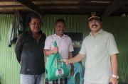Jelang Idul Fitri, Muh Aras Berbagi Bantuan ke Warga Barru