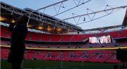 Adzan untuk Pertama Kalinya Dikumandangkan di Sisi Lapangan Stadion Wembley London