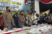 Fantastis! Polisi Bongkar Peredaran 310 Kg Sabu Jaringan Internasional