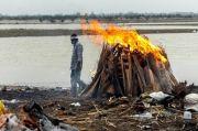 Horor, 40 Mayat Diduga Korban COVID-19 Dibuang di Sungai Gangga India