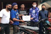 Dapat Hadiah Motor dari Nasdem, Begini Ungkapan Bahagia Warga Makassar