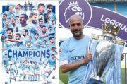 Manchester City Juara Liga Primer Inggris, Guardiola Cetak Banyak Rekor