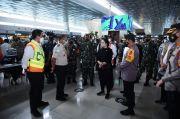 Tinjau Soetta, Puan: Jangan Sampai Bandara Kecolongan Jadi Pintu Penyebaran Covid-19