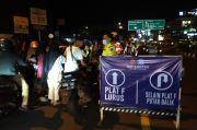 Malam Takbiran di Puncak, Ratusan Kendaraan dari Luar Bogor Diputar Balik