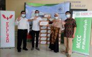 Wuling Bagikan Bantuan ke Muhammadiyah Covid-19 Command Center