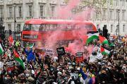 Ribuan Demonstran Dukung Rakyat Palestina dalam Unjuk Rasa di London