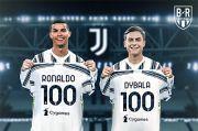 Ronaldo dan Dybala Kompak Bikin Gol ke-100 untuk Juventus