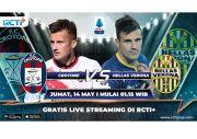 Live Streaming RCTI Plus: Crotone vs Hellas Verona