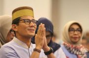Ucapkan Selamat Hari Raya Idul Fitri , Sandiaga Uno Berharap Tahun Depan Bisa Lebaran Kumpul Keluarga