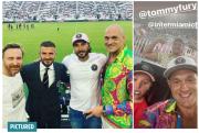 Jelang Naik Ring Lawan Joshua, Tyson Fury Temui David Beckham