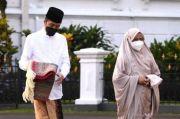 Presiden Jokowi dan Ibu Negara Salat Ied di Halaman Istana Kepresidenan Bogor