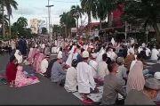Cegah Penularan COVID-19, Salat Idul Fitri di Masjid Agung Palembang Dipercepat