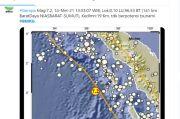 Gempa Bermagnetudo 7,2 Guncang Nias, BMKG Ingatkan Gempa Susulan
