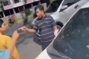 Viral Keributan di Hari Lebaran, Pengendara Sedan Stop Mobil Tim Rumah Makan Gratis di Cibubur