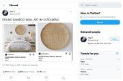 Netizen Heboh, Tampah Bambu Dijual Rp 4,2 juta di E-commerce Luar Negeri