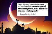 Waktunya Puasa Sunnah 6 Hari Syawal, Berikut Keutamaan dan Niatnya