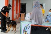 Anjing Pelacak Disiagakan di Rutan Makassar untuk Cegah Peredaran Narkoba