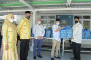 Gubernur Nova Kembali Kunjungi dan Berbagi Bingkisan untuk Nakes RS Rujukan Covid-19