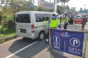 Mobil Berplat Luar Bogor Masih Dilarang Menuju Puncak, Ratusan Kendaraan Diputar Balik