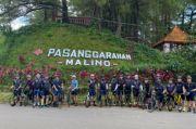 Isi Hari Libur Lebaran, MCC Gowes ke Kota Wisata Malino