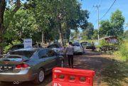 Cegah Kerumunan Pengunjung, Sejumlah Tempat Wisata di Bangka Selatan Dipasang Police Line