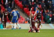 Leicester Rengkuh Trofi Pertama Piala FA, Vardy Gembira Bisa Lengkapi Karier