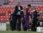 Barcelona Gagal Juara LaLiga, Koeman Berharap Lionel Messi Tetap Bertahan