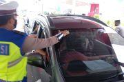 Masuk Jabodetabek, Kendaraan Pemudik Akan Ditempeli Stiker Khusus