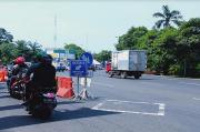 Hari Terakhir Larangan Mudik, Bundaran Waru Surabaya Terpantau Lancar