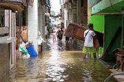 Banjir Kepung 4 RT di Muara Baru, Warga Sulit Beraktivitas