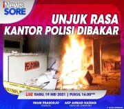 Massa Beringas Bakar Polsek Candipuro Lampung, Selengkapnya di iNews Sore Rabu Pukul 16.00 WIB