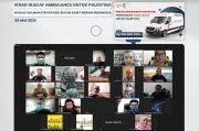 Bela Palestina, Wakaf Salman dan Jamaah Masjid ITB Donasikan Ambulans untuk Warga Gaza